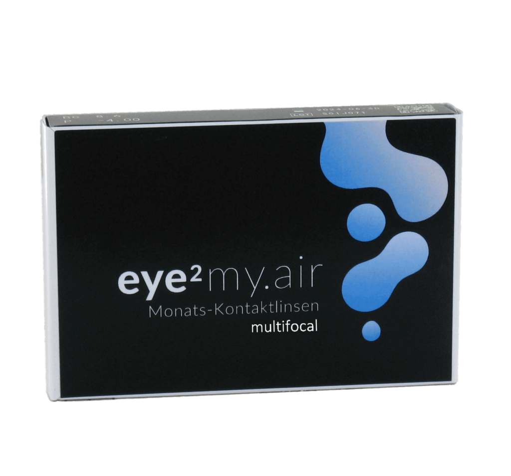 eye2 my.air Monats-Kontaktlinsen multifocal (6er Box)