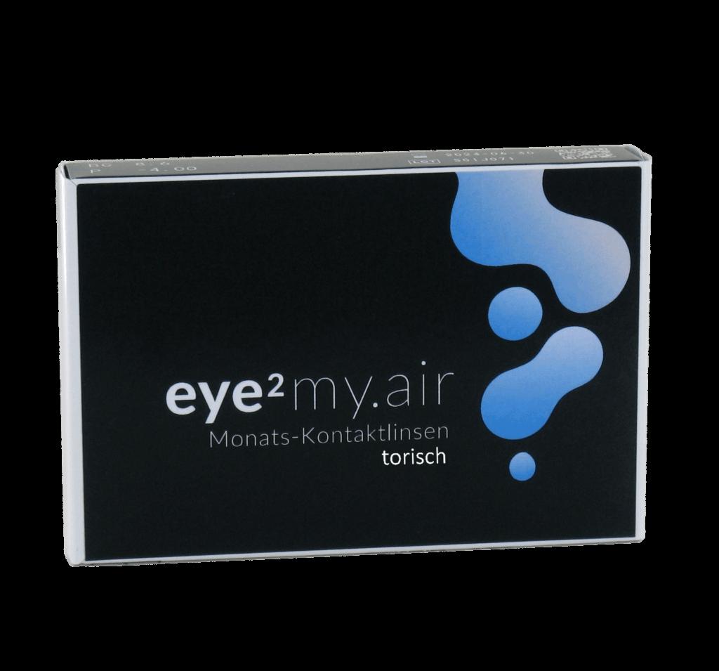 eye2 my.air Monats-Kontaktlinsen torisch (6er Box)