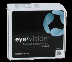 eye2 vision2 Monats-Kontaktlinsen torisch (6er Box)