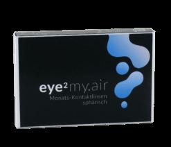 eye2 my.air Monats-Kontaktlinsen sphärisch (3er Box)