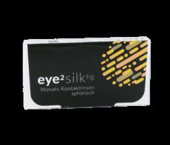 eye² silk hg sphärisch Monats-Kontaktlinsen (3er Box)